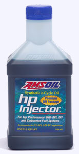 AMSOIL Synthetic HP Injector 2-Cycle Oil